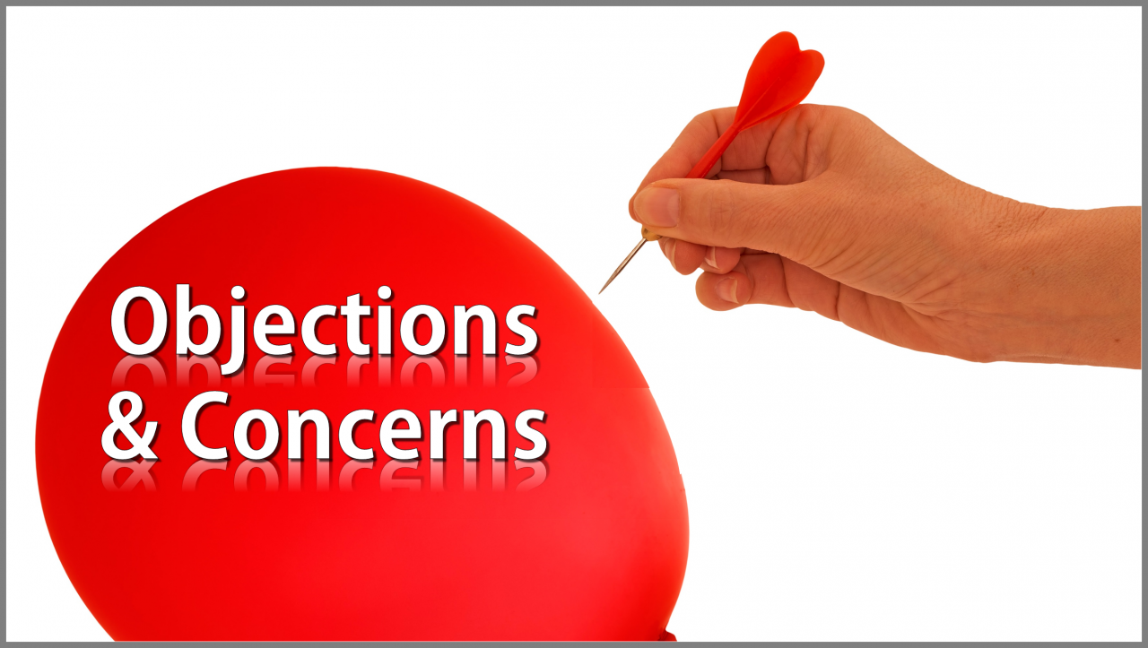 Are You Effectively Overcoming Objections & Concerns?