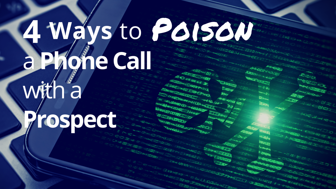 4 Common Mistakes That Can Ruin a Prospect Phone Call