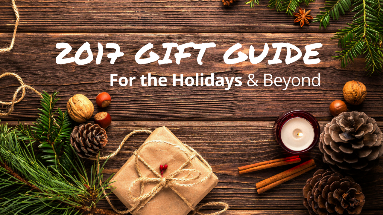Bill's 2017 Holiday Gift Guide