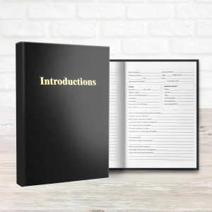 Introductions Journal